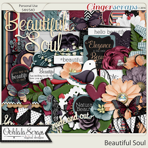 Beautiful Soul Digital Scrapbooking Kit