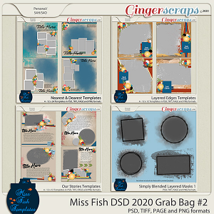 Miss Fish Grab Bag #2 DSD 2020