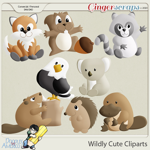 Doodles By Americo: Wildly Cute Cliparts