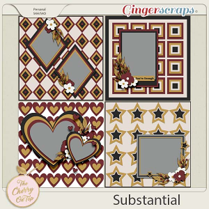 The Cherry On Top:  Substantial Templates