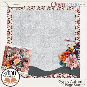 Gypsy Autumn Stacked Paper Gift 01 by ADB Designs