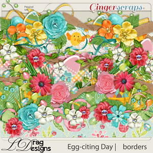 Egg-citing Day:Borders by LDragDesigns