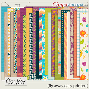 Fly Away Easy Printers by Chere Kaye Designs