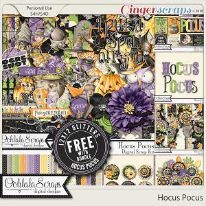 Hocus Pocus Digital Scrapbook Bundle
