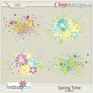 Spring Time Scatterz by Lindsay Jane