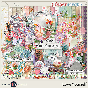 Love Yourself Kit by Snickerdoodle Designs