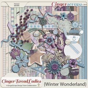 GingerBread Ladies Collab: Winter Wonderland