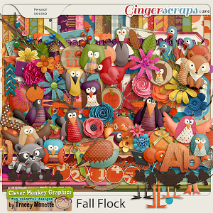 Fall Flock by Clever Monkey Graphics