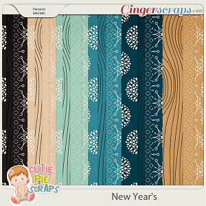 New Year's Pattern Papers