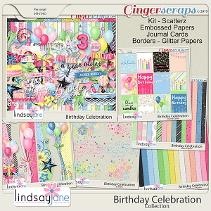 Birthday Celebration Collection by Lindsay Jane