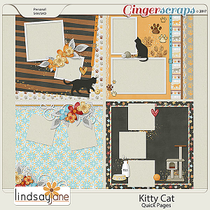 Kitty Cat Quick Pages by Lindsay Jane