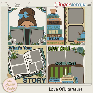 The Cherry On Top:  For The Love of Literature Templates