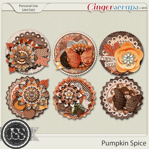 Pumpkin Spice Cluster Seals