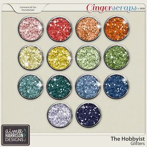 The Hobbyist Glitters by Aimee Harrison