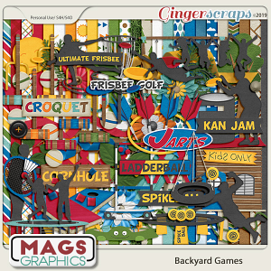 Backyard Games 100+ PIECE KIT by MagsGraphics