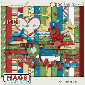Christmas Joys KIT by MagsGraphics