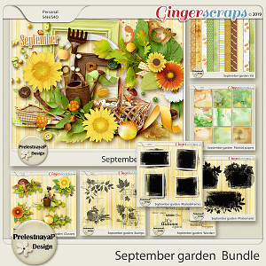 September garden Bundle