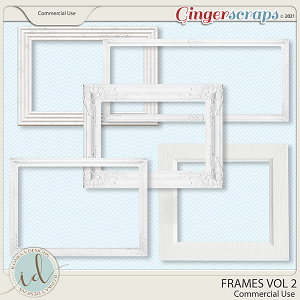 CU Frames Vol 2 by Ilonka's Designs