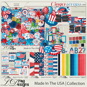 Made In The USA: The Collection by LDragDesigns