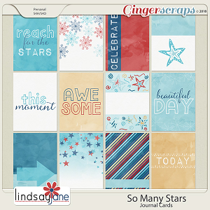 So Many Stars Journal Cards by Lindsay Jane