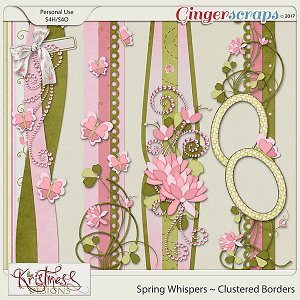 Spring Whispers Clustered Borders