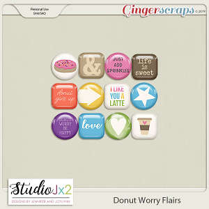 Donut Worry Flairs