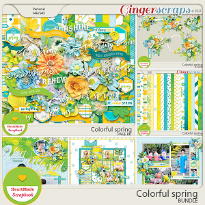 Colorful spring - bundle