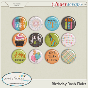 Birthday Bash Flairs