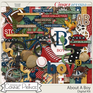 About A Boy - Kit by Connie Prince