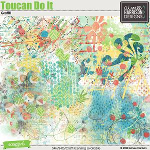 Toucan Do It Graffiti by Aimee Harrison