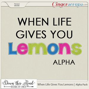 When Life Gives You Lemons | Alpha pack