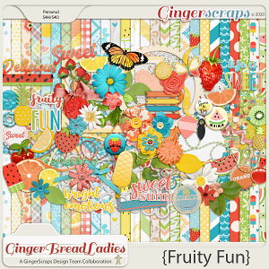 GingerBread Ladies Collab: Fruity Fun