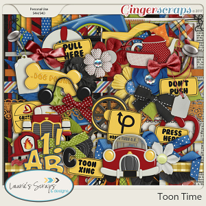 Toon Time Page Kit