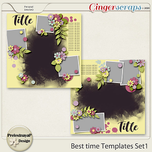 Best time Templates Set1