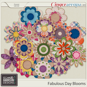 A Fabulous Day Blooms by Aimee Harrison