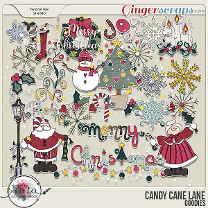 Candy Cane Lane - Goodies - by Neia Scraps