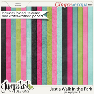 Just a Walk in the Park {Plain Papers} by Jumpstart Designs