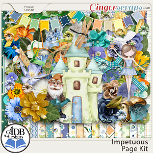 Impetuous Page Kit by ADB Designs