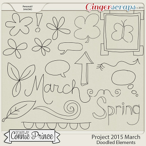 Project 2015 March - Doodled Elements