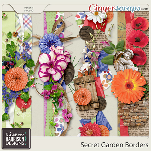 Secret Garden Borders by Aimee Harrison