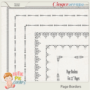 Page Borders 47 By Cutie Pie Scraps