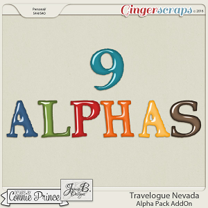 Travelogue Nevada - Alpha Pack Addon
