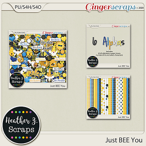 Just Bee You BUNDLE by Heather Z Scraps