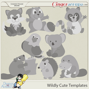 Doodles By Americo: Wildly Cute Templates