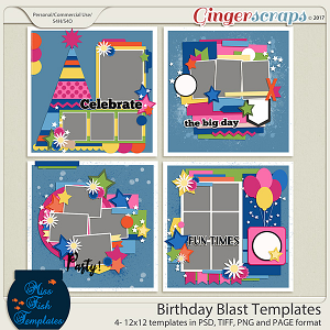Birthday Blast Templates