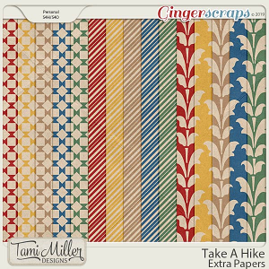 Take A Hike Extra Papers by Tami Miller Designs