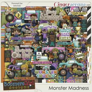 Monster Madness by BoomersGirl Designs