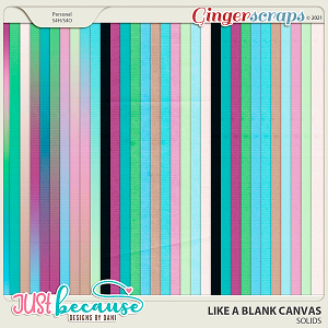 Like A Blank Canvas Solids by JB Studio