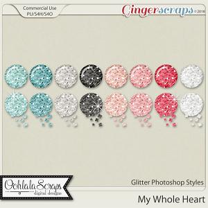 My Whole Heart CU Glitter Photoshop Styles