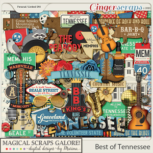 Best of Tennessee (page kit)